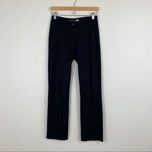 Betabrand Straight Leg Classic Yoga Dress Pant